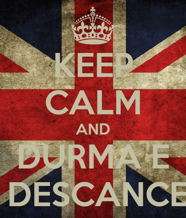 KEEP CALM AND DURMA E  DESCANCE