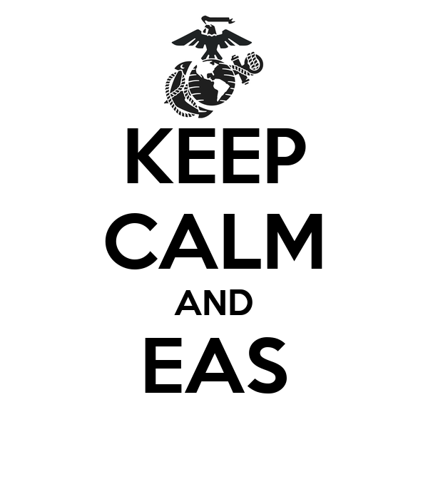 KEEP CALM AND EAS