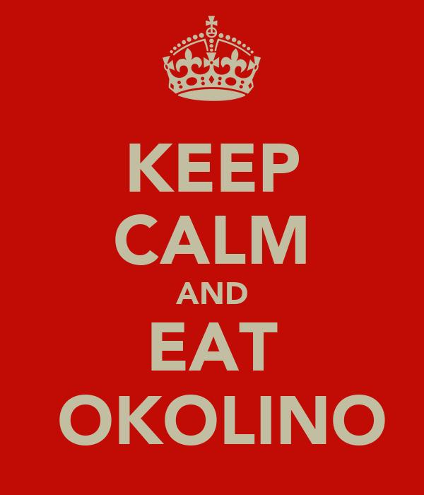 KEEP CALM AND EAT ČOKOLINO