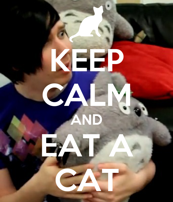 KEEP CALM AND EAT A CAT