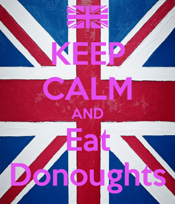 KEEP CALM AND Eat Donoughts