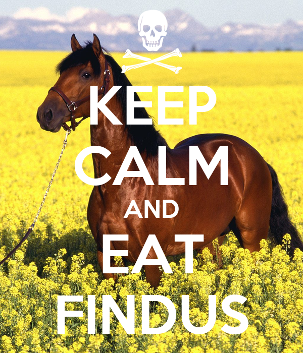 KEEP CALM AND EAT FINDUS