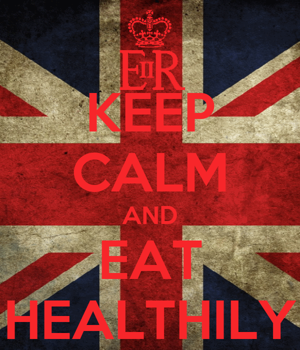 KEEP CALM AND EAT HEALTHILY