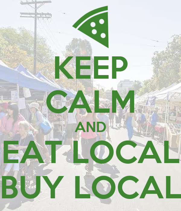 eat local poster - photo #13