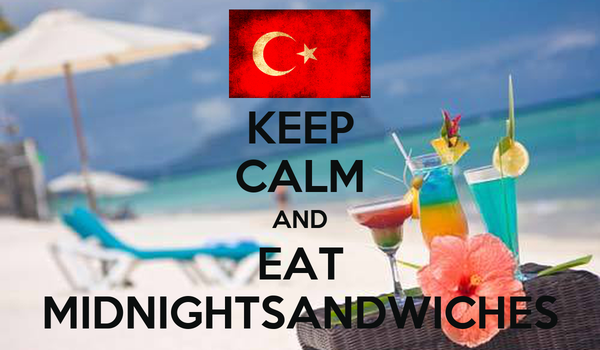 KEEP CALM AND EAT MIDNIGHTSANDWICHES