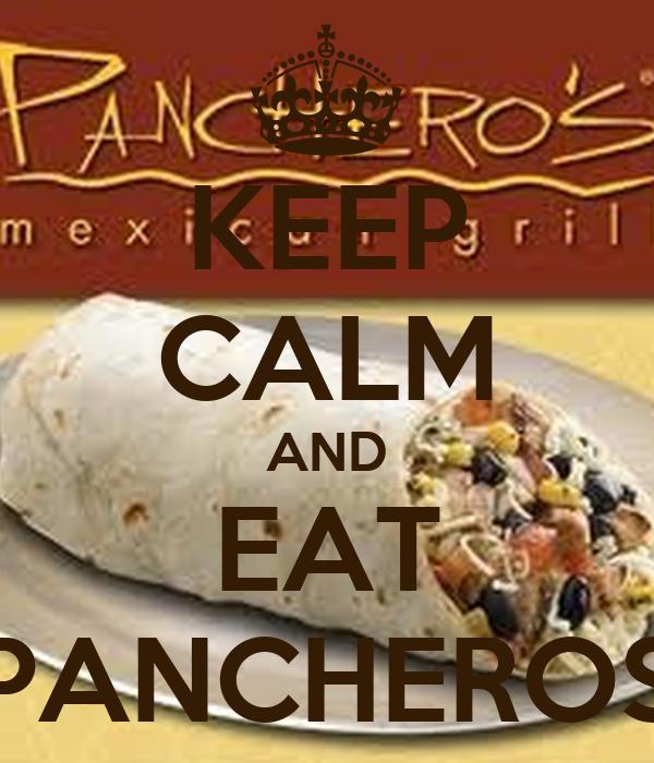 KEEP CALM AND EAT PANCHEROS