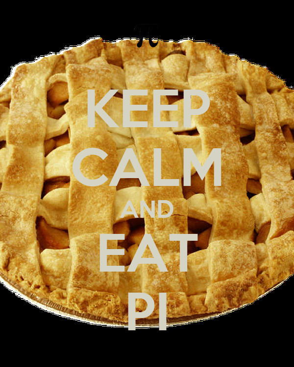 KEEP CALM AND EAT PI