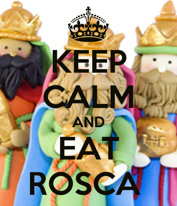 KEEP CALM AND EAT ROSCA