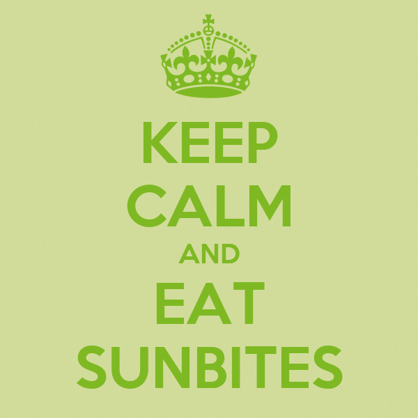 KEEP CALM AND EAT SUNBITES