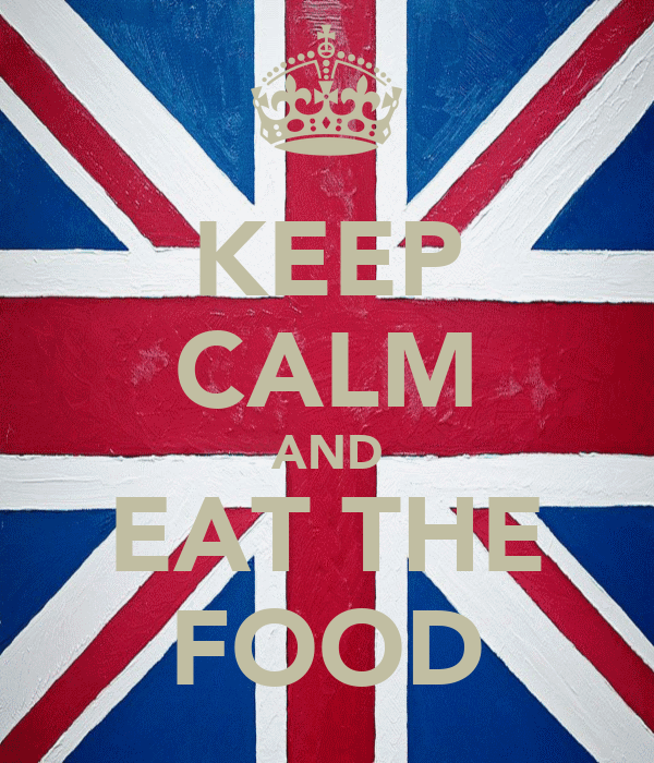 KEEP CALM AND EAT THE FOOD