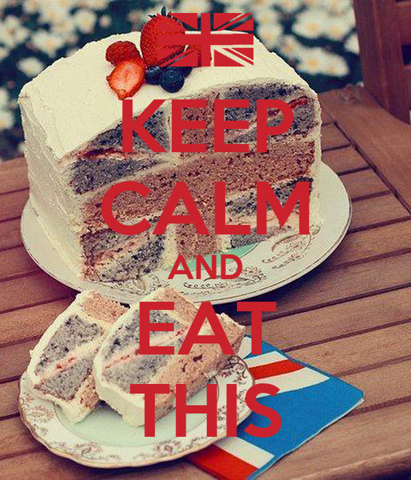 KEEP CALM AND EAT THIS