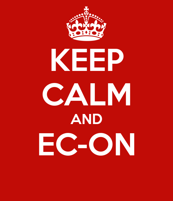 KEEP CALM AND EC-ON