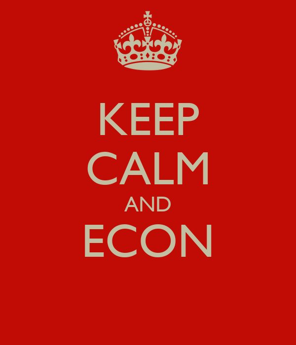 KEEP CALM AND ECON