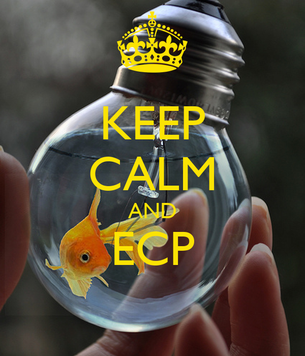 KEEP CALM AND ECP