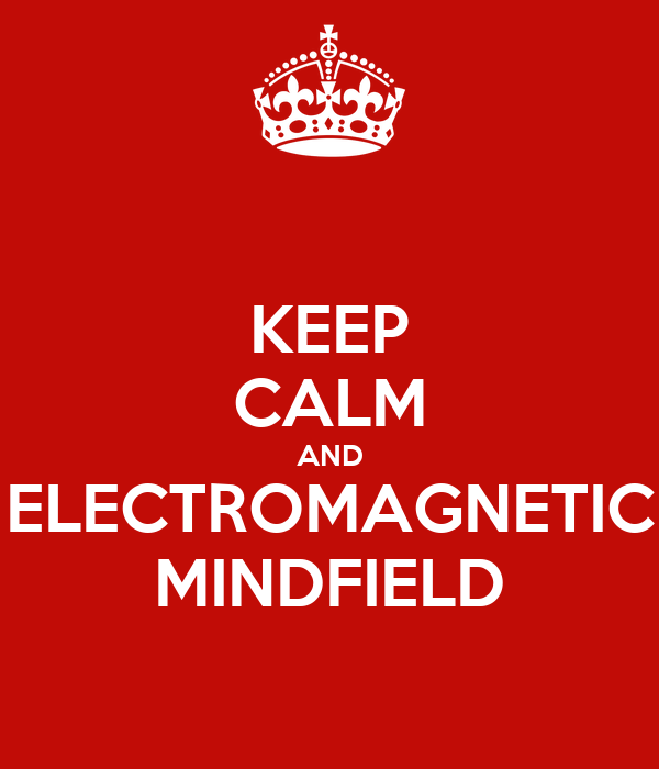 KEEP CALM AND ELECTROMAGNETIC MINDFIELD