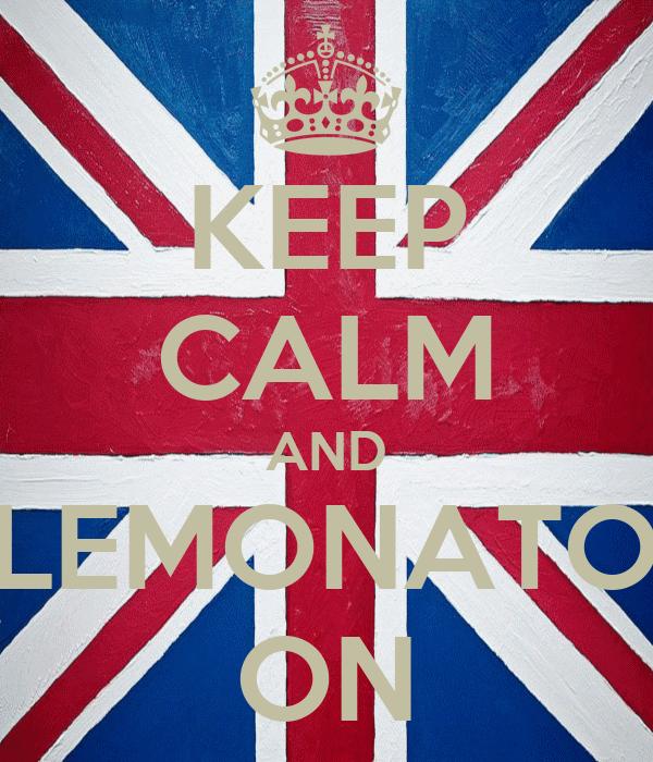 KEEP CALM AND ELEMONATOR ON