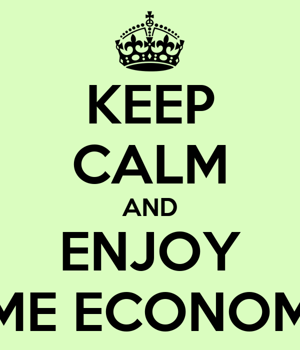 KEEP CALM AND ENJOY HOME ECONOMICS