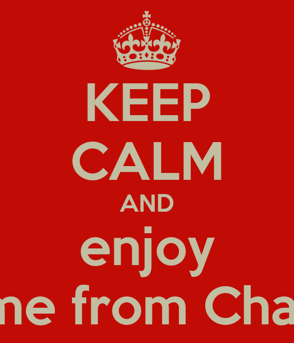 KEEP CALM AND enjoy Rome from Charlie