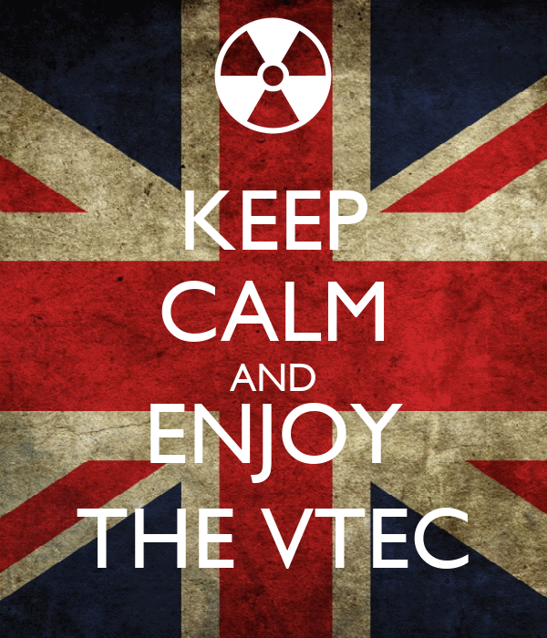 KEEP CALM AND ENJOY THE VTEC
