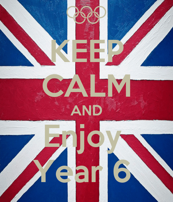 KEEP CALM AND Enjoy  Year 6