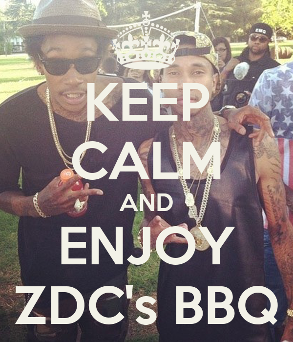 KEEP CALM AND ENJOY ZDC's BBQ