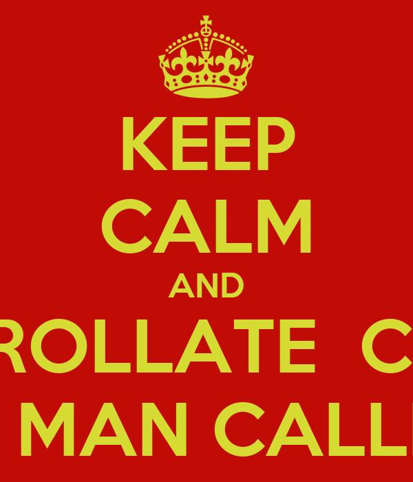 KEEP CALM AND ENROLLATE  CON JOSE MAN CALLEJON
