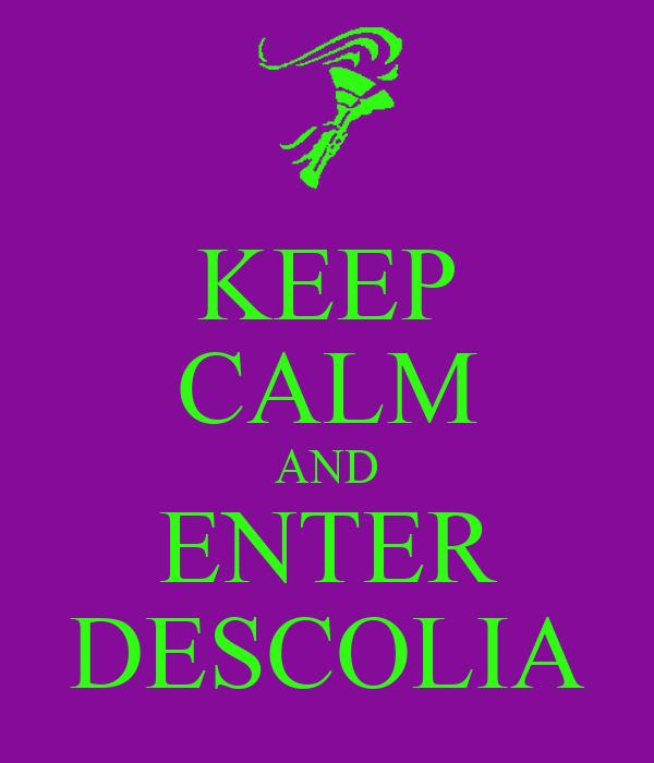 KEEP CALM AND ENTER DESCOLIA