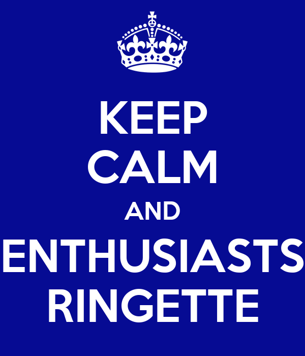 KEEP CALM AND ENTHUSIASTS RINGETTE