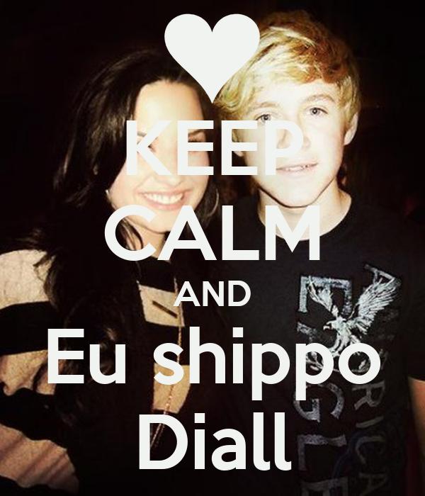 KEEP CALM AND Eu shippo Diall