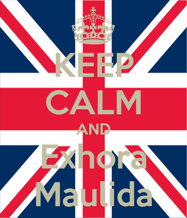 KEEP CALM AND Exhora Maulida