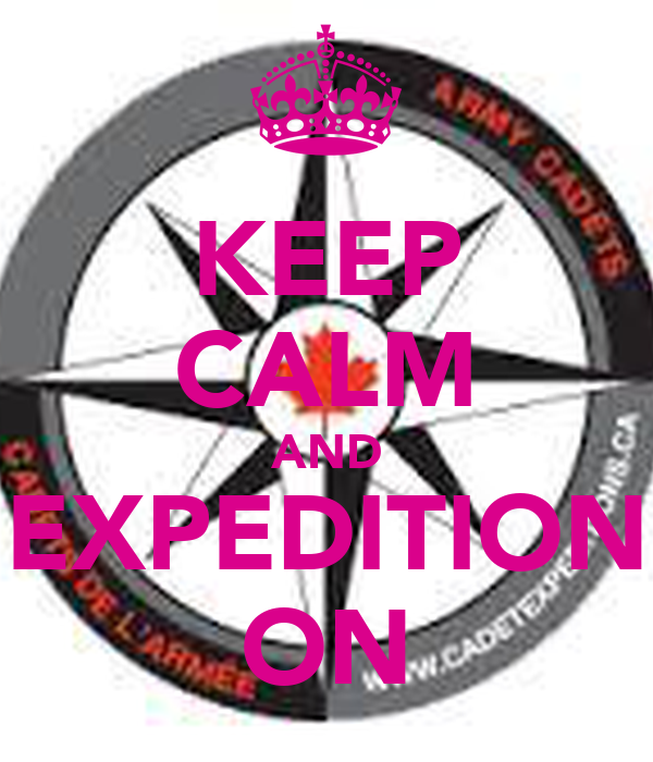 KEEP CALM AND EXPEDITION ON