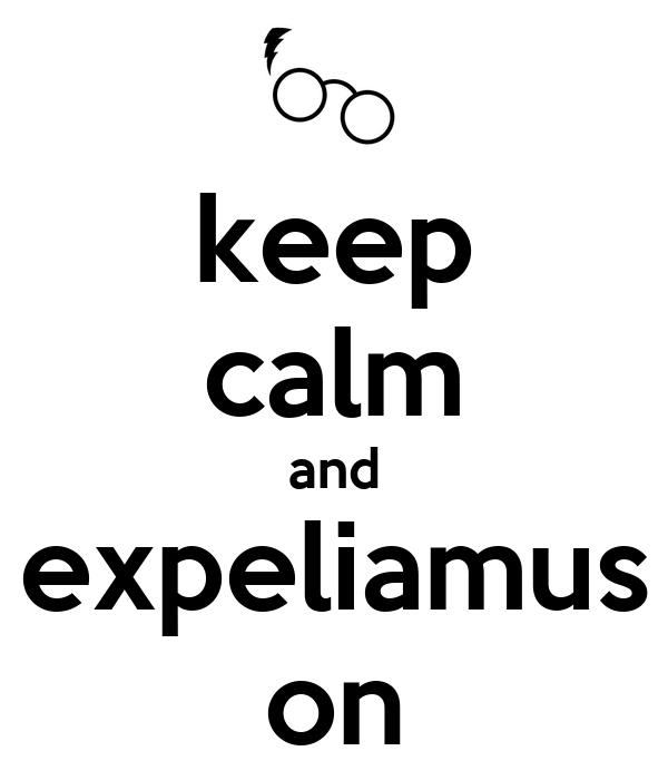 keep calm and expeliamus on