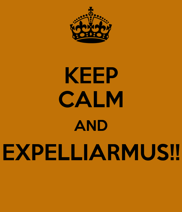KEEP CALM AND EXPELLIARMUS!!
