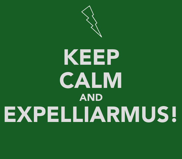 KEEP CALM AND EXPELLIARMUS!