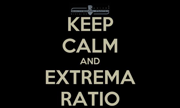 KEEP CALM AND EXTREMA RATIO