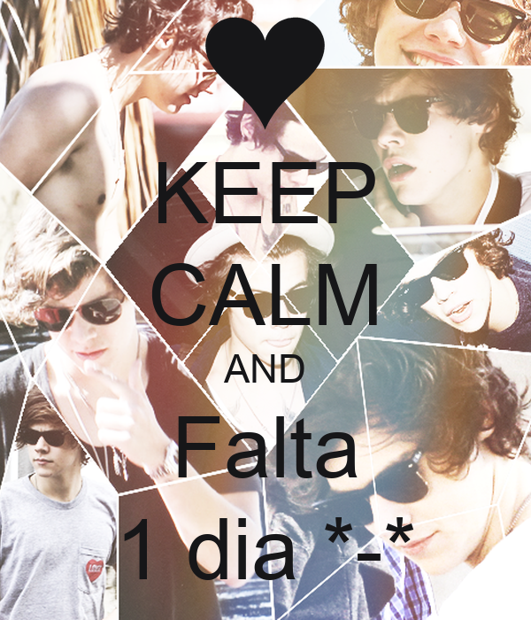 KEEP CALM AND Falta 1 dia *-*