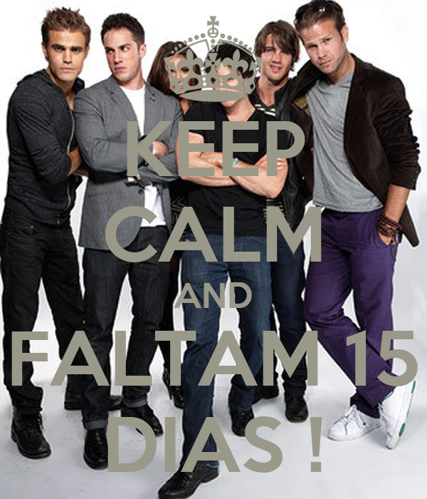 KEEP CALM AND FALTAM 15 DIAS !