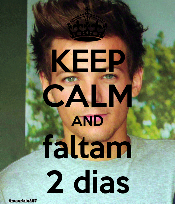 KEEP CALM AND faltam 2 dias