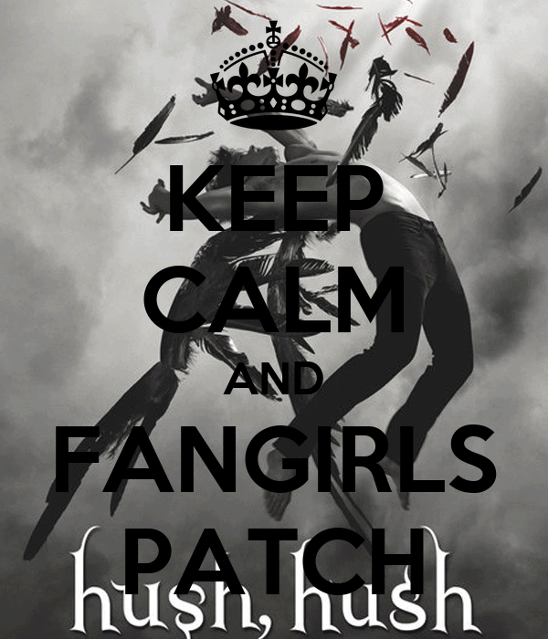 KEEP CALM AND FANGIRLS PATCH