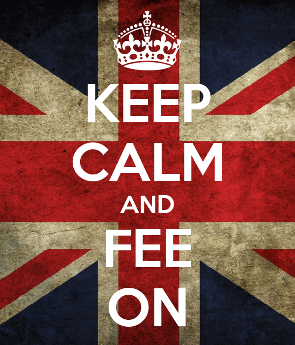 KEEP CALM AND FEE ON