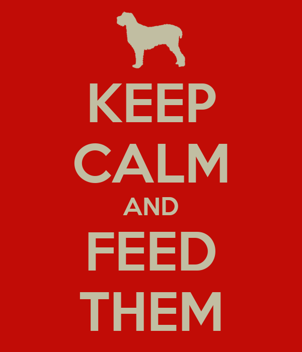 KEEP CALM AND FEED THEM