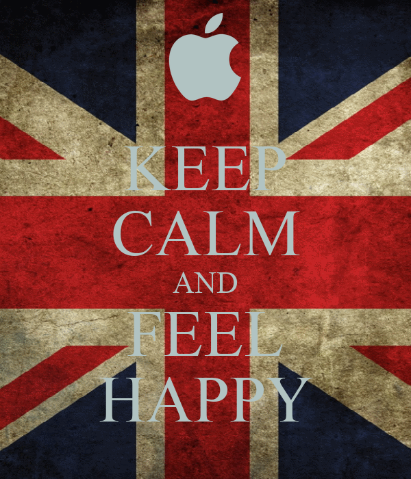 KEEP CALM AND FEEL HAPPY