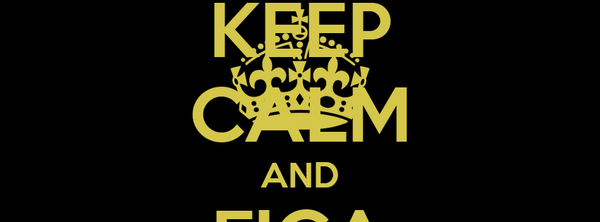 KEEP CALM AND FICA FLY