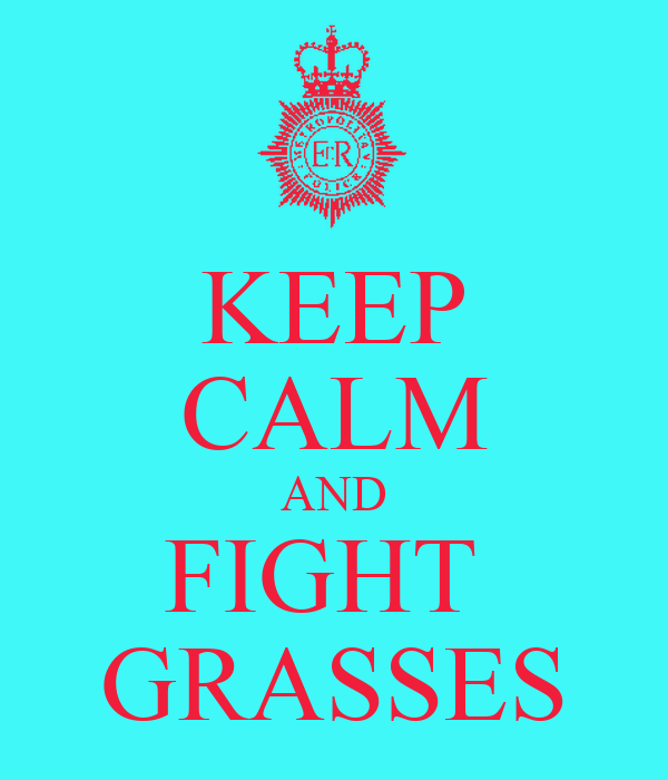 KEEP CALM AND FIGHT  GRASSES