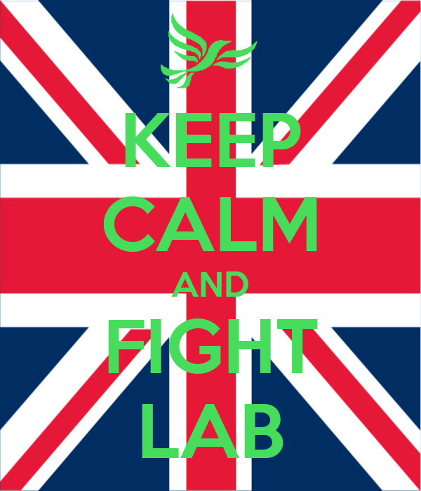 KEEP CALM AND FIGHT LAB