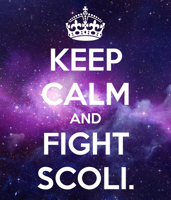 KEEP CALM AND FIGHT SCOLI.