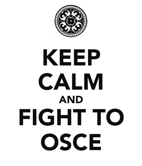 KEEP CALM AND FIGHT TO OSCE