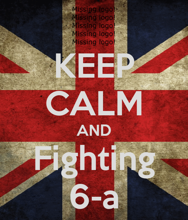 KEEP CALM AND Fighting 6-a