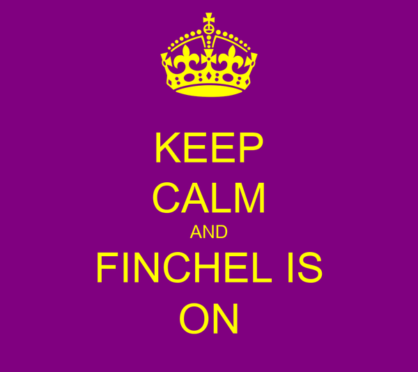 KEEP CALM AND FINCHEL IS ON