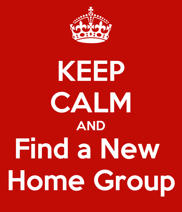 how to find a homegroup
